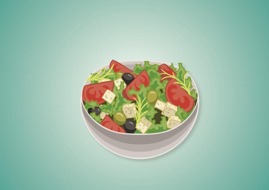 Golden corral menu salads